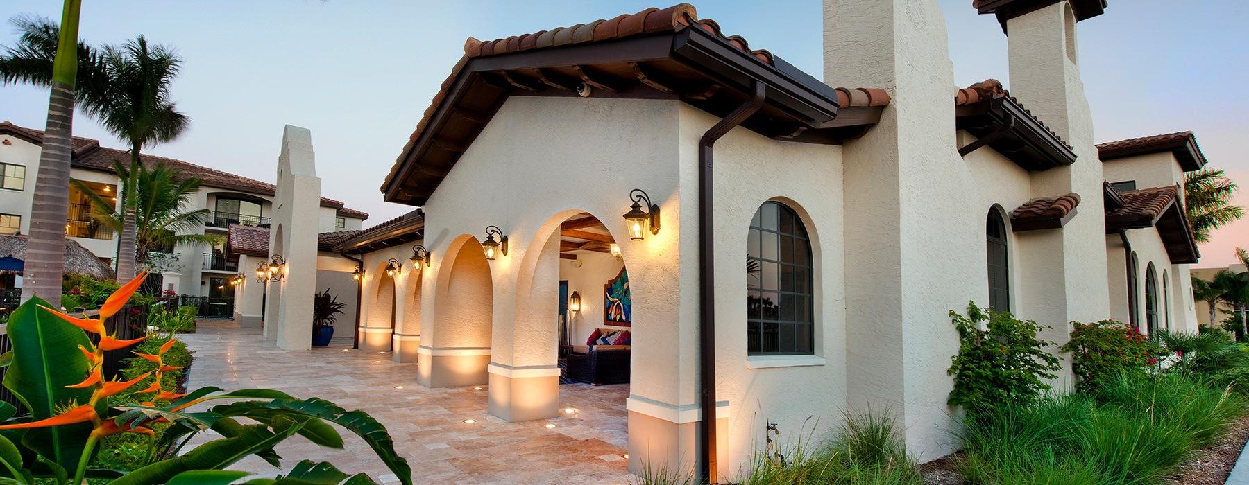 Resident patio